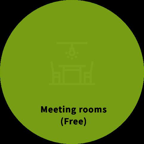 Meeting rooms(free)