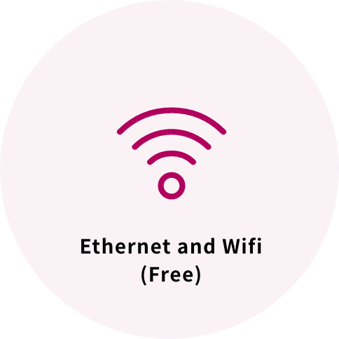 Ethernet and Wifi (Free)