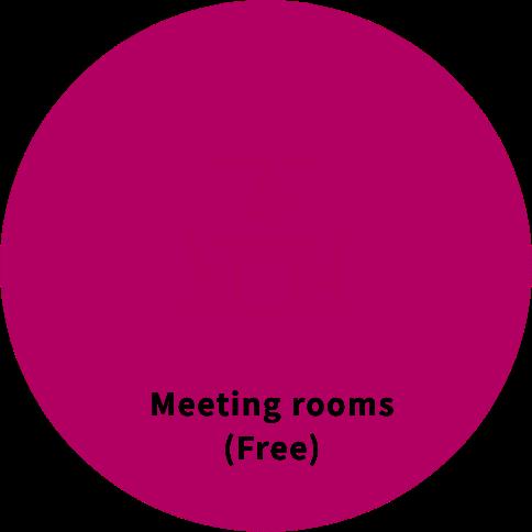 Meeting rooms (Free)