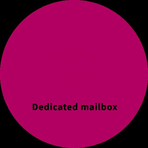 Dedicated mailbox